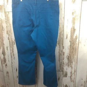 Woman Within, Blue Jeans, Size 22Tall.  M14